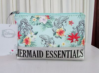 Loungefly Disney Ariel The Little Mermaid Essentials Makeup Cosmetic Bag NWT