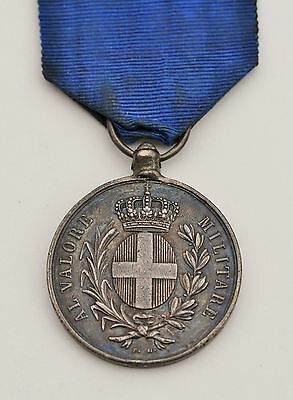 Italy: Medal of the Value Military,Guerre of Italy 1859, awarded