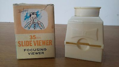 Vintage Codeg 35mm Slide Viewer Empire Made Boxed