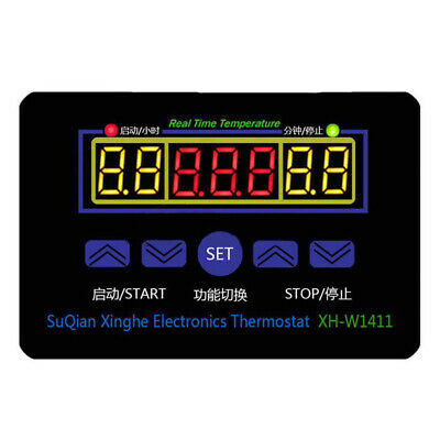 XH-W1411 DC 12V Multi-functional Temperature Controller Thermostat Switch N2O1