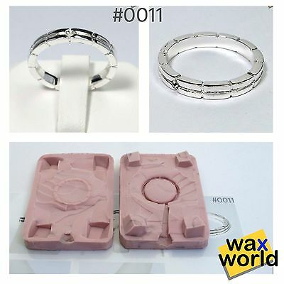 #0011 NEW Rubber Wax Casting Mold Jewelry Lost Wax Injection Casting ring