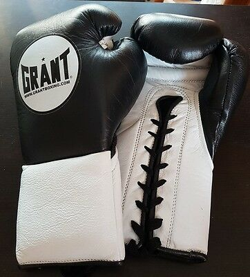 Grant Worldwide Vintage 10oz Pro Fight Gloves - VERY RARE