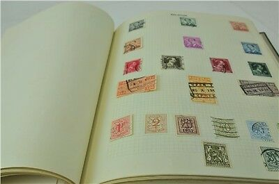 Over 1000 Assorted Stamps In Stamp Collection Book Including British Collectable