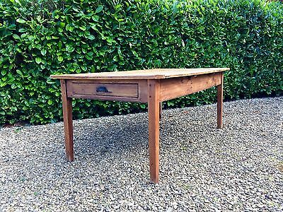 Gorgeous French Farmhouse Pine Kitchen Table Rustic