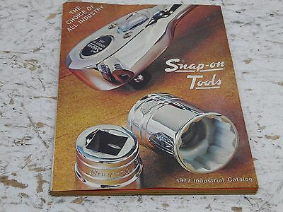 Vintage 1977 Snap On Tools Industrial Tool Catalog 248 pages