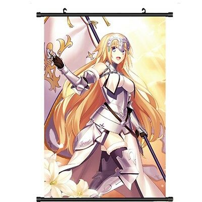 "Home Decor Anime Poster Wall Scroll Fate Grand Order Jeanne  Cosplay 24.5""*34.6"""