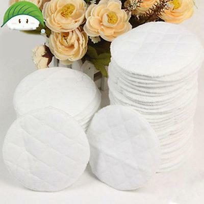 6pcs Baby Feeding Reusable Breast Pad Breastfeeding Absorbent Nursing