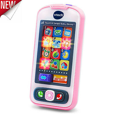 Kids Toy Cell Phone Baby Girl Learning Play Musical Mobile Children Toys Pink