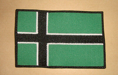 TYPE O NEGATIVE - VINLAND FLAG LOGO Embroidered PATCH PETER STEELE BLOODY KISSES