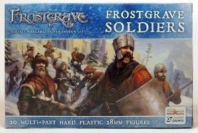 Frostgrave Soldiers Northstar Military Figures FGVP01 Brand New in Box