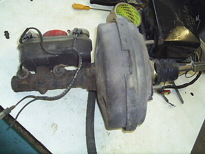 Ford Transit Mk3 Brake servo and master cylinder