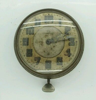 Vintage Omega Car Clock Mechanical Movement For Repairs