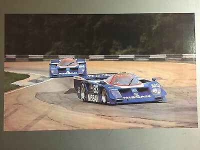 1991 Nissan GTP Race Car Print, Picture, Poster RARE!! Awesome L@@K