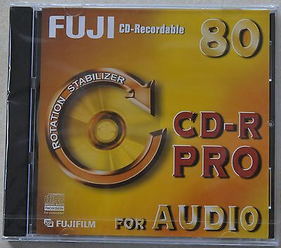 FUJI CD-R PRO 80 for AUDIO (Rotation Stabilizer) WriteOnce NEU