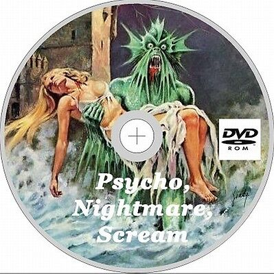 Skywald Comics Nightmare, Psycho and scream 75 Issues on Dvd Rom