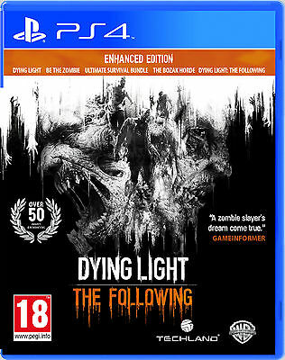 DYING LIGHT: THE FOLLOWING: ENHANCED EDITION - PS4 Game | BRAND NEW & SEALED