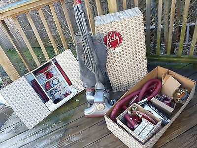 Vintage -Kirby 560 Vacuum Cleaner And Attachments, Original Box, Super Rare Find