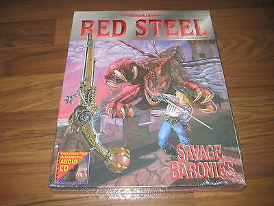 AD&D 2nd Edition Red Steel Savage Baronies Boxed Set 1995  TSR 9500 Neu New SW