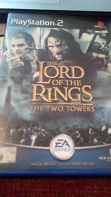 lord of the rings the two towers Playstation 2, age 15 plus.