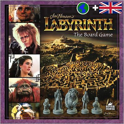 Labyrinth - The Board Game River Horse RHLAB001 New in Box