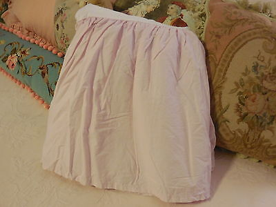 SIMPLY SHABBY CHIC Twin LIGHT PINK BEDSKIRT dust ruffle Rachel Ashwell cottage