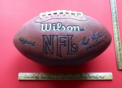 Vintage Official TAGLIABUE Wilson Football NFL F1000 Slightly Under Inflated....