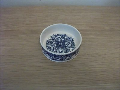 Masons Blue Flowers Preserve dish for Crabtree & Evelyn