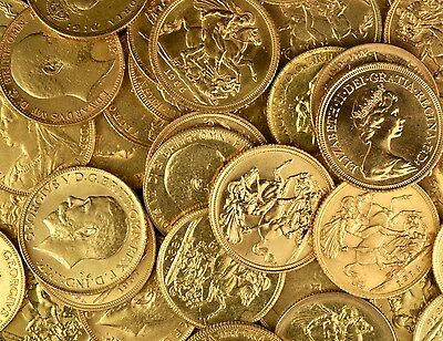 1x 22ct Gold Sovereign Bullion Coins Capital Gains Free Investment NEXT DAY 1pm
