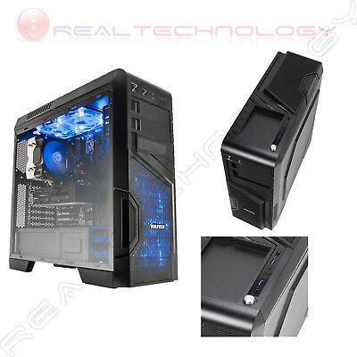 Case Atx Vultech Gaming Oblivion Gs-0585N Senza Alimentatore Usb 3.0 Nero Rev2.2