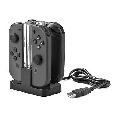 Joy-con Controller Stand Charging Dock Station per Nintendo Switch Gamepad AC799