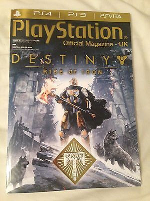 PlayStation Official Magazine #127 October 2016 Destiny PS4 (FREE FAST POSTAGE)