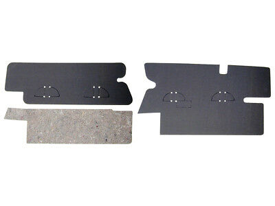 New 1972-73 Torino Trunk Filler Boards Pair Rear Compartment Gran Sport Ford