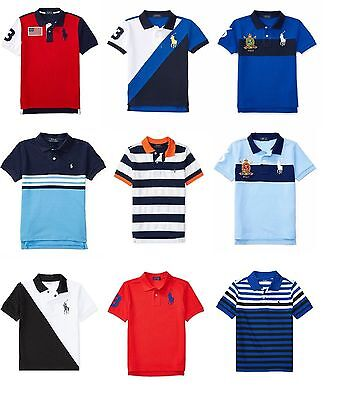 Polo Ralph Lauren Boys Short Sleeve Polo Shirts Size 4, 5, 6, 7