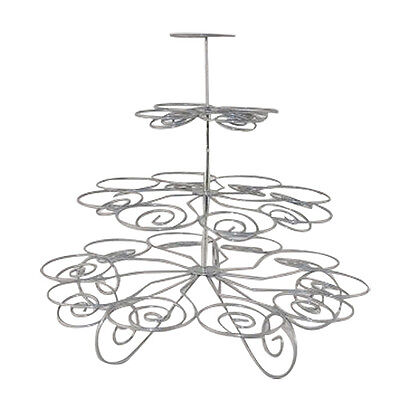 Hot sales 4 Tiers 23 cups hold cupcake stand PK
