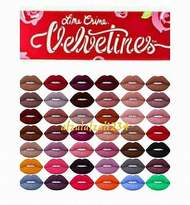 Lime Crime Velvetines Liquid Lipstick Matte Effect (Lip gloss) New Shades