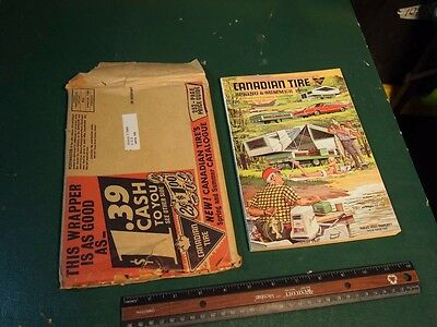 Canadian Tire Corp 1968 Spring And Summer Catalog With Rare Mailer