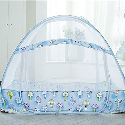 Sinotop Zippered Baby Mosquito Net Foldable Baby Bed Kids Tent Nursery Crib Cano