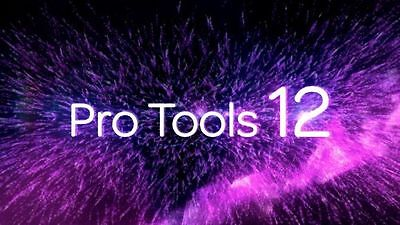 Avid Pro Tools 12 Software License on iLok 2