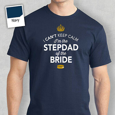 Stepdad of Bride Funny Tshirt Wedding Gift Stag Do Night Bachelor Party Keepsake