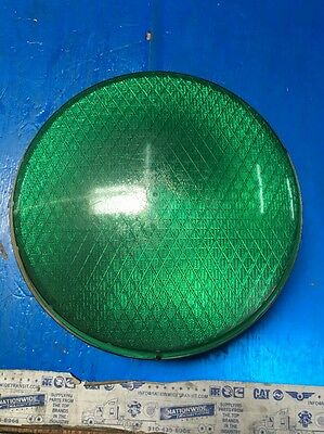 "12"" DIALIGHT #433-2220-001 green 120 VOLT AC 60 HZ TRAFFIC LIGHT  14w"
