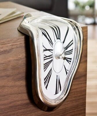 Clock - Kare design - Melting table clock - new
