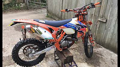 Ktm exc 450 factory edition 2015 low hours