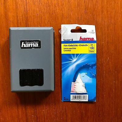 Super 8 Hama Splicer and tape