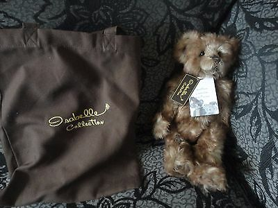 Charlie Bears Snuffbox ltd edition to 400 with bag , now retired
