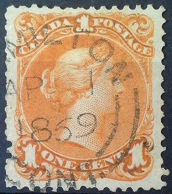 Large Queen 1868 23 Orange SON CDS Lovely