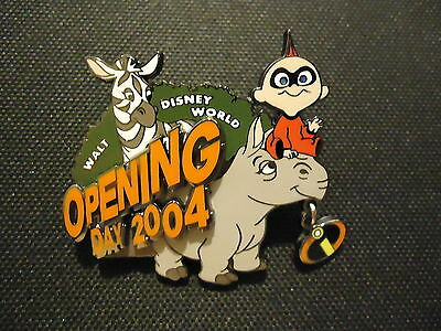 Disney Wdw Incredibles Opening Day Animal Kingdom Jack Jack Pin Le 3000