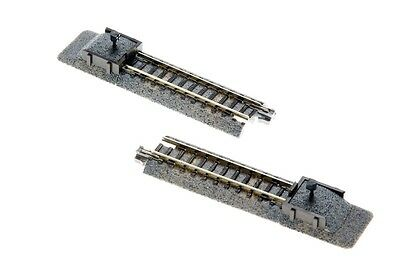 "Kato 20-047 N Unitrack 62mm 2 7/16"" Bumper Track B 2pcs"