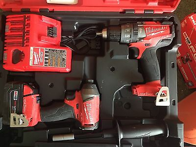 Milwaukee M18 Fuel One Key Hammer Drill And Impact Driver