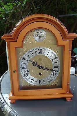 bracket   clock WESTMINSTER WHITTINGTON ST MICHEAL TRIPLE CHIME MADE BY W HAID