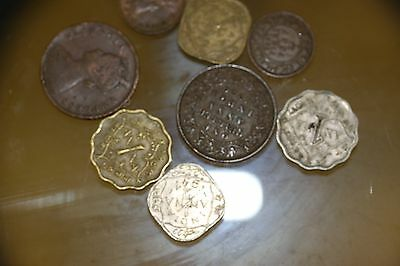India 8 Old Coins